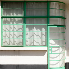 Hoover Building Canteen-17 (Paul Dykes) Tags: perivale england unitedkingdom gb uk artdeco architecture egyptian hooverbuilding canteen