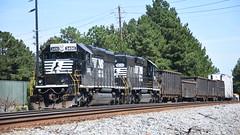 NS G74 10/1/17 (tjtrainz) Tags: ns norfolk southern local train g74 doraville ga georgia division piedmont greenville district sd402 emd electro motive