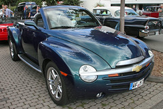 SSR (Schwanzus_Longus) Tags: oldenburg german germany big bumper meet us usa america american modern car vehicle pickup pick up truck ute cabrio cabriolet convertible topless chevy chevrolet ssr