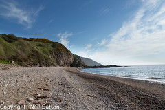 Berriedale Beach (Neil Sutton Photography) Tags: beach berriedale caithness canon highland landscape pebblebeach scotland clifface coast coastline rockface