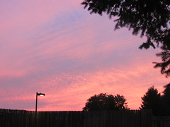 Painted sky (creed_400) Tags: sunset dusk belmont west michigan summer august