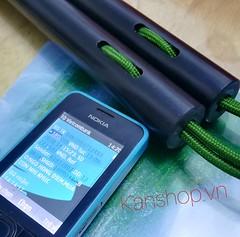 Khách chuyển tiền mua  #Côn_nhựa dây dù của www.kanshop.vn  Đường kính thân côn 2.5cm. Nặng 300gr Rơi rớt - Rửa nước - Tự vệ: #OK!  LH: 0937008446 #NUNCHAKU SHOP (Nunchaku. Dạy và Bán côn nhị khúc. KANSHOP) Tags: nunchaku cônnhựa ok