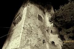 Il Castello. The Castle. (rikkuccio) Tags: rikkuccio flickrsicilia ancient bianconero bn antico castle sicily sicilia messina brolo castello
