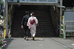 DSCF8111 (tohru_nishimura) Tags: xe1 xf6024 fujifilm tateishi train keisei station tokyo japan