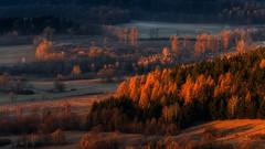Colour Spectrum. (Bonnie And Clyde Creative Images) Tags: landscapes poland europe canon autumn