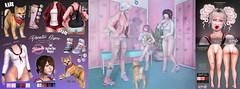 Tentacio & .{PSYCHO:Byts}. Disaster gym - The Epiphany (Psikotik Gothly - .{PSYCHO:Byts}. Owner) Tags: theepiphany {psychobyts} tentacio gacha kawaii pet animatedmesh dog shiba inu cute japan japanese school broken leg maitreya