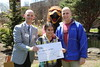 292A0830 (HACC, Central Pennsylvania's Community College.) Tags: harrisburg dayofgiving outside outdoors tuition giveaway hawk noah ski student check