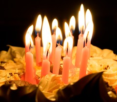 Candles (PsycheRed) Tags: nikon nikond3300 fire fogo candle candles vela velas birthday