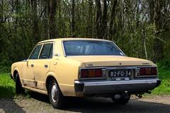 Toyota Crown 2600 De Luxe (Skylark92) Tags: nederland netherlands holland noordholland northholland amsterdam noord north toyota crown 2600 de luxe 82fg34 1975 onk tonemapped