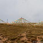 Prayer flags near Mati Si thumbnail