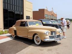 1942 Lincoln Continental V-12 Cabriolet (JCarnutz) Tags: 1942 lincoln continental v12 cabriolet lincolnheritagemuseum gilmorecarmuseum
