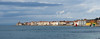 Piran from the sea (Kitschi_) Tags: adria 50mm adriaticsea meer sony loxia sea a7ii summer 2017 panorama cityscape slowenien zeiss slovenia f2 piran ilce sommer loxia250