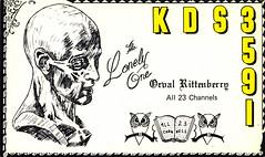 13100654 (myQSL) Tags: cb radio qsl card 1970s