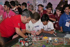 Robot Games (NERDLebanon) Tags: national day tracking league teachers bekaa lebanon education robotics robots first nerd north nerd18 beirut event lego stem line biggest competitions students ftc fun fll schools south sumo ieee activities school after