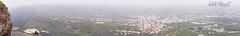 Utsiktsplats. (Veli Vilppu) Tags: 2426m borås cave eljesús hus kanarieöarna lapalma losllanos miradordeeltime mountain proiscandelaria roquedelosmuchachos sanantonio skillingaryd sweden teneguía veli vilppu biltur black byggnad cliffs clouds colours färger grottor hav lava observatorium observatory ocean path solnedgång stad sten stig stup sunset svart town utsikt utsiktsplats viewpoint vulkan vy water waves tijarafe canarias spanien panorama
