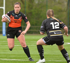 Hard And Straight (Feversham Media) Tags: yorkcityknightsladiesrlfc castlefordtigerswomenrlfc amateurrugbyleague rugbyleague york yorkstjohnuniversity womenssuperleague sportsaction northyorkshire yorkshire