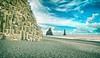 (Rhia.photos) Tags: iceland ísland nature sea rocks sky blue clouds colors colours image photography photograph photo cliffs travel vík dyrhólaey víkímýrdal reynisfjara reynisfjarabeach beach reynisdrangar sliderssunday happysliderssunday hss