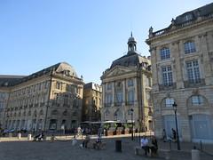Late afternoon at Place de la Bourse, Bordeaux, France (Paul McClure DC) Tags: bordeaux france gironde nouvelleaquitaine july2017 historic architecture