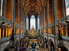 The Lady Chapel, Liverpool Anglican  Cathedral (robin denton) Tags: liverpool cathedralcity cathedral church churchofengland building grade1listedbuilding listedbuilding england uk interior chapel samsung galaxy samsunggalaxy s7