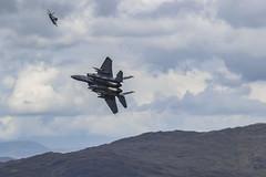 2 F15's Climbing (Mal.Durbin Photography) Tags: f15 maldurbin machloop strikeeagles jets aviation lfa7 lowflyarea7 lowflyingaircraft