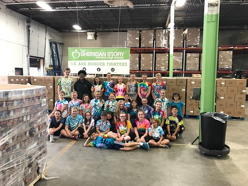 Roseville Lutheran Church Packing Event 7/20/18