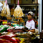 Worker at a dry goods store in Bangkok's Chinatown thumbnail