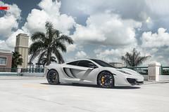 ANRKY Wheels - McLaren MP4-12C - AN24 (anrkywheels) Tags: anrky anrkywheels mclaren mp412c exotic milledfresh seriestwo mv2 hre madeintheusa chalk wrapped fitment pirelli lifestyle
