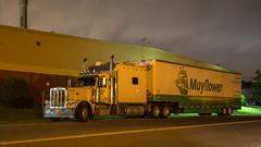 Peterbilt 389 (NoVa Truck & Transport Photos) Tags: moving truck peterbilt 389 big bunk condo sleeper mayflower transit conser