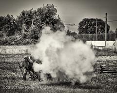 Boooom!!! (Zane's Photography) Tags: 70200mmf28e antiquepowerland brooks civilwar ncwc nikond800 northwestcivilwarcouncil reenactment reenactors