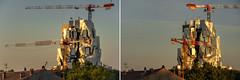 Le-Matin-et-le-Soir (RS...) Tags: arles matin soir tour tower frankgehry morning evening briller shine luma d800