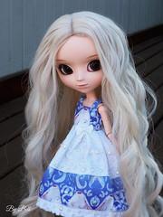 Emilly desfilando a nova juba!! XD (♪Bell♫) Tags: pullip romantic alice blue emilly rosemberg doll groove wig