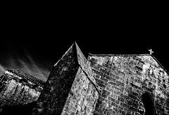 WhiteCross.jpg (Klaus Ressmann) Tags: klaus ressmann fcharente nikon summer architecture blackandwhite contrast flccity romanicchurch klausressmann