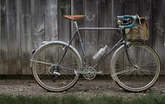 Bike update / tweeks for D2R2 (koperajoe) Tags: vintagetrek bicycle 650b cycloourisme bikeportrait trek613