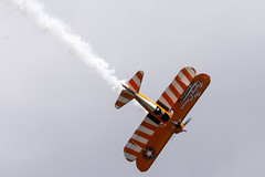 DSC_9650 copy (quintinsmith_ip) Tags: aerosuperbatics flyingcircus 'superstearmans stearmans plane formation flight smoke smoking orange white wingwalkers sunderland 2018
