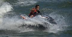 Water Ride (Scott 97006) Tags: fun sport ride guy river water wet spray seadoo splash
