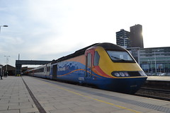 East Midlands Trains HST 43076 (Will Swain) Tags: leicester 6th april 2018 train trains rail railway railways transport travel uk britain vehicle vehicles england english leicestershire city east midlands hst 43076 class 43 high speed 076 williamsdigitalcamerapics100