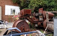 Out Of Service. Aug 2018 (SimonHX100v) Tags: rusty rust old corroded urban decay ruins urbex nottingham nottinghamshire unitedkingdom uk england english greatbritain gb britain british eastmidlands simonhx100v sonyhx100v