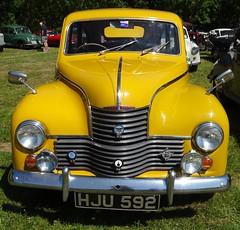 Jowett Javelin Yellow Glyndyfrdwy Classic Transport Show June 30th 2018 (mrd1xjr) Tags: jowett javelin yellow glyndyfrdwy classic transport show june 30th 2018