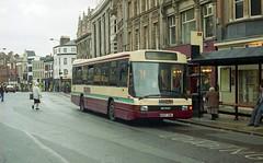 Rainy Reading. (Renown) Tags: bus singledecker daf sb220 optare delta reading buses g507xbl berkshire