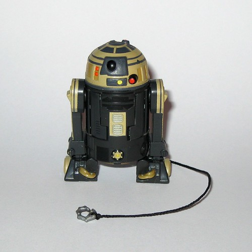 r3-s6 goldie astromech droid no  23 star wars the clone wars basic
