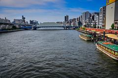 Sumida River in Asakusa - Tokyo Japan (mbell1975) Tags: taitō tōkyōto japan jp sumida river asakusa tokyo asia city water bridge