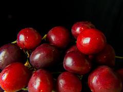 Cherries (Andy Sut) Tags: andysutton food edible eating dining lumix bridgecamera amateur homestudio studiolighting still studio