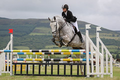 Londonderry & Limavady Agricultural Show (jac.photography49) Tags: canon clouds exposure fullframe fauna grass hills horses images ireland view jumping sky mountain northernireland rider showjumping