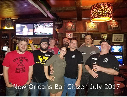 New Orleans July 2018