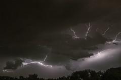 Lightning behind Clouds (Klaus Ficker --Landscape and Nature Photographer--) Tags: lighting lightningstrikes thunderstorm thunder storm gewitter blitz sturm donner clouds wolken kentuckyphotography klausficker canon eos5dmarkiv usa