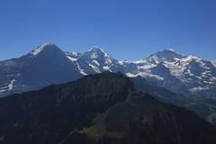 Eiger, Mönch und Jungfrau (William Sc) Tags: mountains switzerland berneroberland jungfraujoch