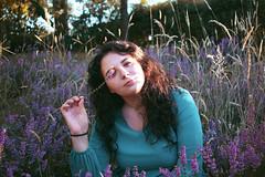 Juliette (Charlotteorlik) Tags: portrait girl fille femme woman robe dress flowers fleurs champ lavande bruyère trees nature paysage photographie photography canon eos 700d 24mm beautiful natural landscape sweet