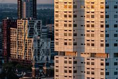 Rotterdam architecture (reinaroundtheglobe) Tags: modernarchitecture architecture architectuur gebouw buildings closeup rotterdam nederland highangleview sunlight