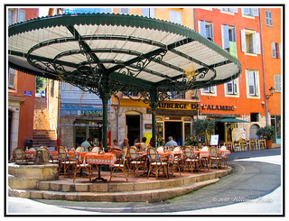 Travel - France - A Pleasant Luncheon in Grasse.