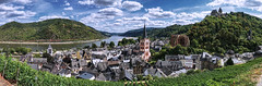 Bacharach summer (Parchman Kid (Jerry)) Tags: panorama wernerkapelle parchmankid sony a6500 bacharach am rhein summer greatphotographers sonyflickraward jerryburchfield burchfield burg stahleck burgstahleck